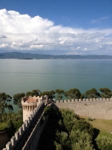 Next stop, walking in the Castiglione del Lago.