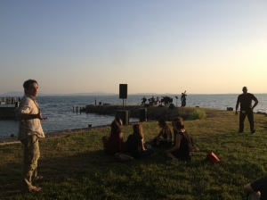 A concert on Isola Maggiore at Sunset with wonderful people!